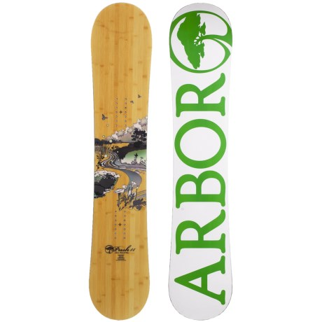 Arbor Push Snowboard (For Women)