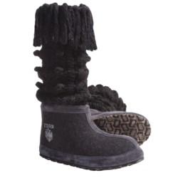ZDAR Masha High Boots - Wool Felt (For Women)
