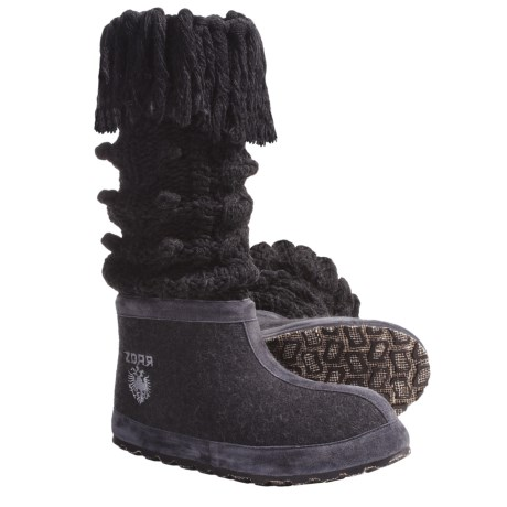 ZDAR Masha High Boots - Wool Felt (For Women)