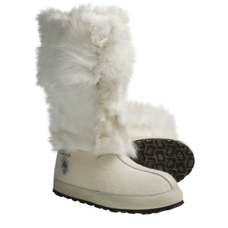 ZDAR Nikita Boots - Fox Fur, Wool Lining (For Women)