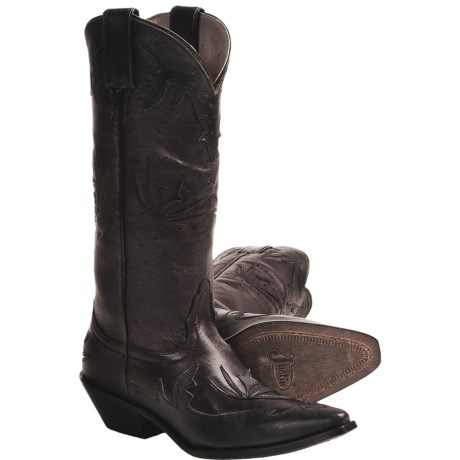 "Justin Boots Bent Rail Cowboy Boots - 13"", J3-Toe, Leather (For Women)"