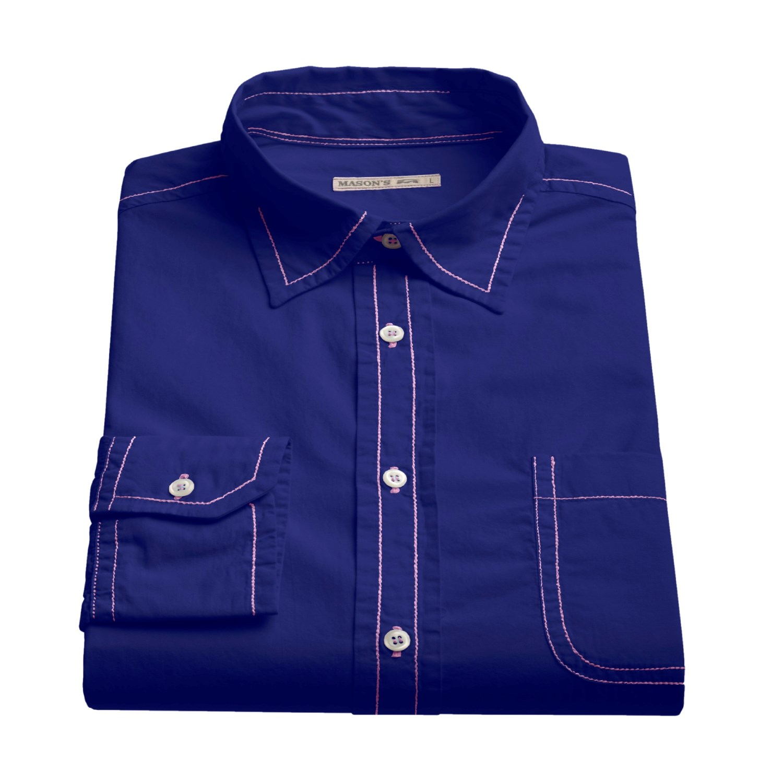 Mason 39 s shirt for men 47844 save 86 for Mason s men s shirts
