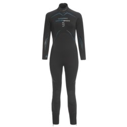 Camaro Semi-Dry Seamless Diving Wetsuit - 3mm (For Women)