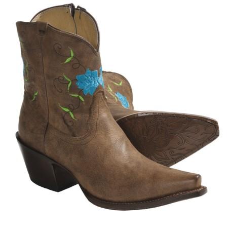 """Tony Lama Vaquero Cowboy Boots - 7"""" (For Women)"""