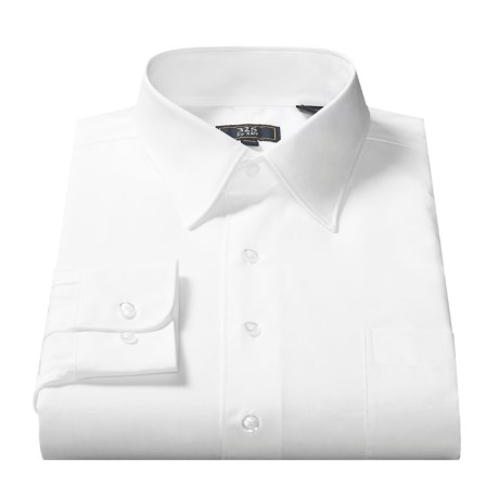 325 by XMI Broadcloth Dress Shirt - Long Sleeve (For Men)