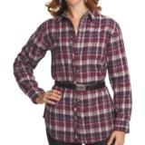 Pulp Double-Faced Cotton Gauze Shirt - Long Sleeve (For Women)