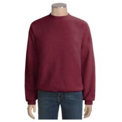 Fleece Crew Neck Sweatshirt - Long Sleeve (For Men and Women)