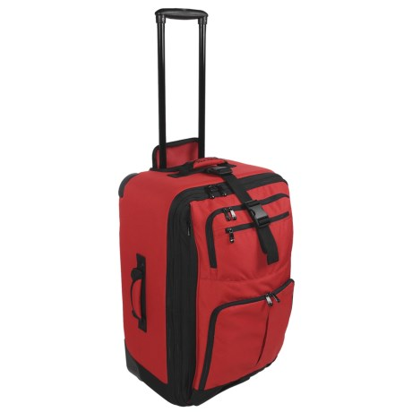 """Rick Steves Collection by Kiva Rolling Suitcase - 24"""""""