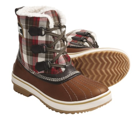 Sorel Tivoli Plaid 2 Winter Pac Boots - Waterproof, Insulated (For Women)