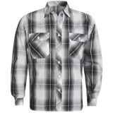 Weekendz Off Cotton Plaid Shirt - Long Sleeve (For Men)