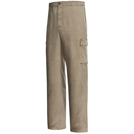 Weekendz Off TENCEL® Cargo Pants (For Men)