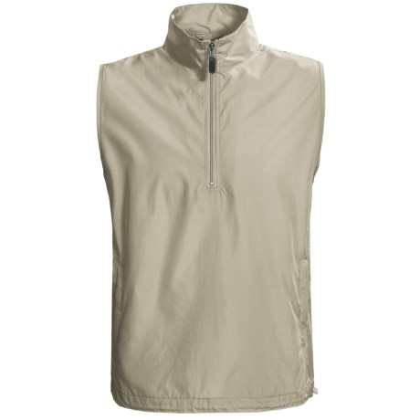 AKWA Wind Vest - Zip Neck (For Men)
