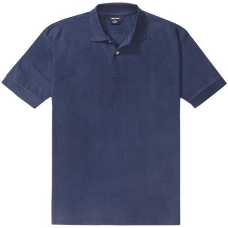 MONSEIUR Monseiur Cotton Polo Shirt - Short Sleeve (For Men)