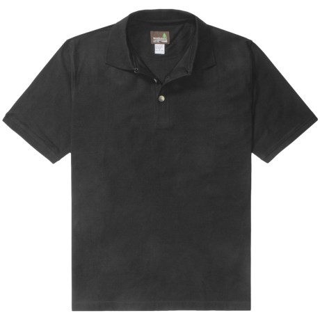 Weekendz Off Cotton Polo Shirt - Short Sleeve (For Men)