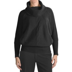 Forte Cashmere Luxury Lounge Cable Sweater - 4-Ply, 5-Gauge (For Women)