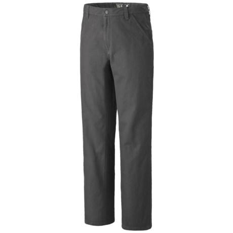 Mountain Hardwear Cordoba Gene Pants - UPF 50, Cotton Canvas (For Men)