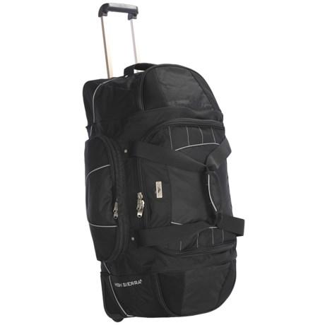 """High Sierra A.T. Gear Wheeled Duffel Bag - 30"""""""