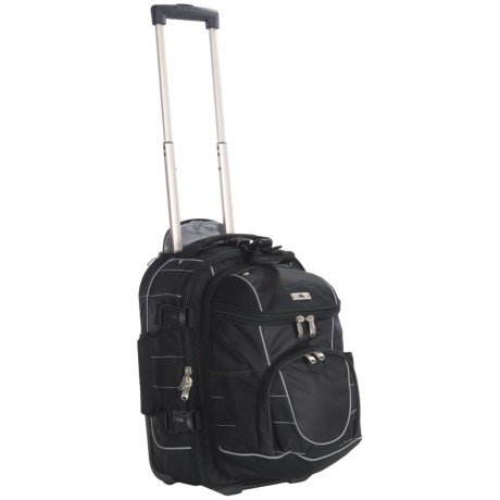 """High Sierra A.T. Gear Rolling Backpack - Removable Daypack, 20.5"""""""