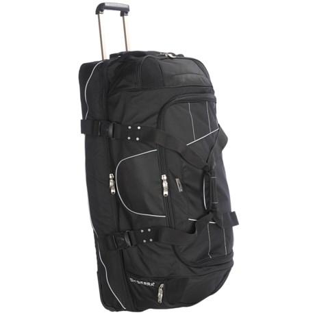 "High Sierra A.T. Gear Wheeled Duffel Bag - 36"", Drop Bottom"