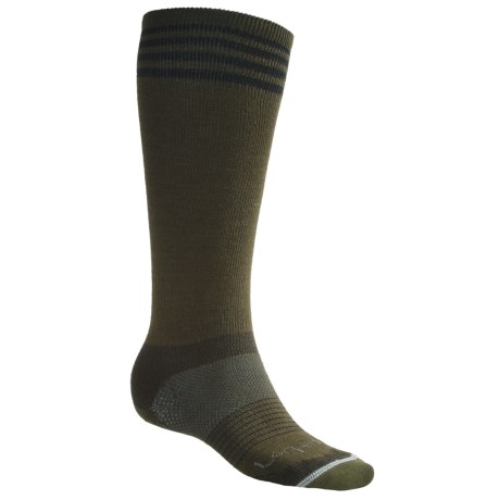 Lorpen 4-Stripe Light Ski Socks - Merino Wool (For Men and Women)