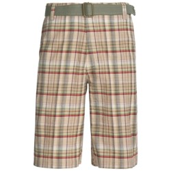 10,000 Feet Above Sea Level Plaid Shorts (For Men)