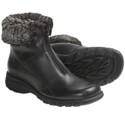 Martino Shearling Collar Boots - Waterproof, Leather (For Women)