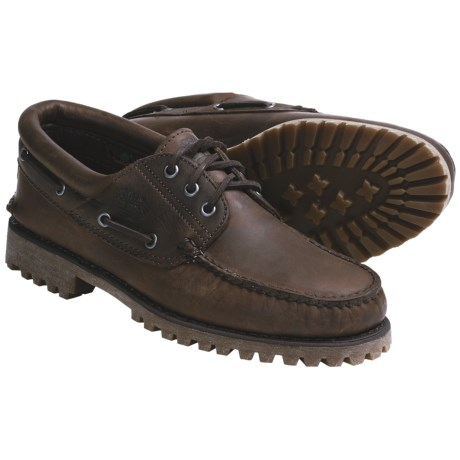 Timberland Classic 3-Eye Shoes - Oiled Leather (For Men)