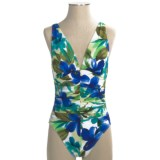 Miraclesuit Brazilian Sunrise Sonatina Tank Swimsuit - 1-Piece (For Women)
