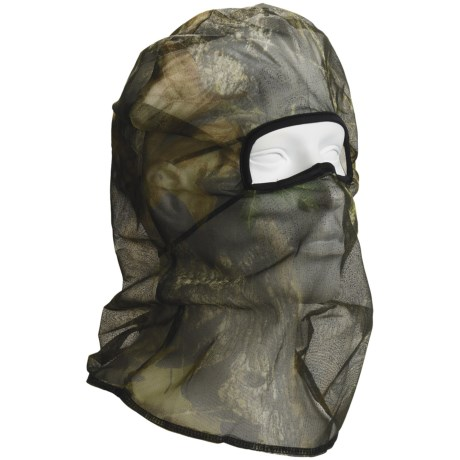 Jacob Ash Lightweight Camo Mesh Head Net - Meshquito Technology (For Men)