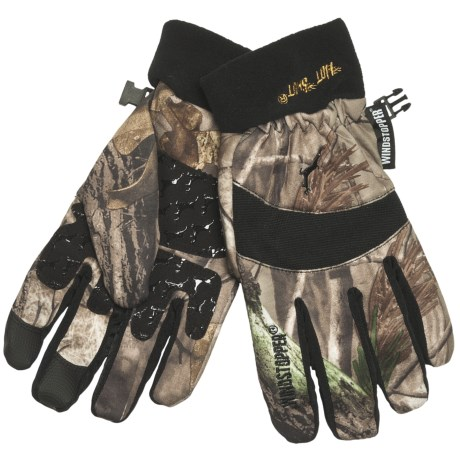 Jacob Ash Falcon Hunting Gloves - Windstopper® (For Men)