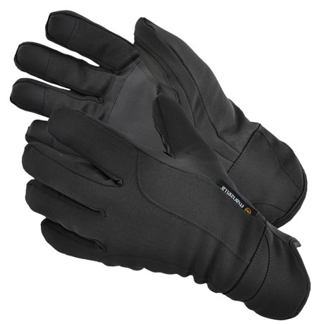 Manzella Commuter Gloves - Insulated, Fleece Lining (For Men)