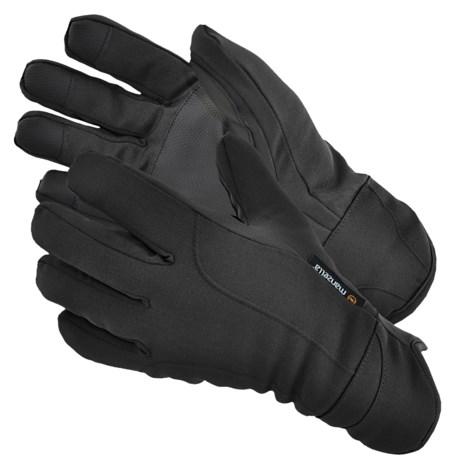 Manzella Commuter Gloves - Insulated, Fleece Lining (For Men)