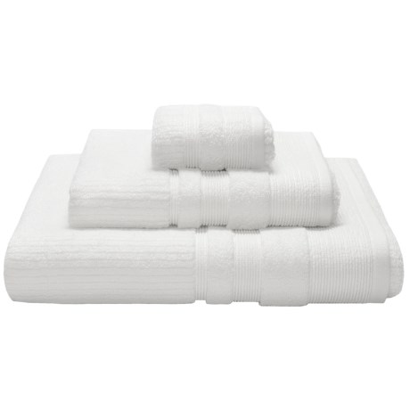Espalma Boucle Crepe Washcloth - Zero-Twist Cotton
