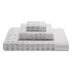 Art Deco by Espalma Dot Jacquard Bath Towel - Cotton-Modal