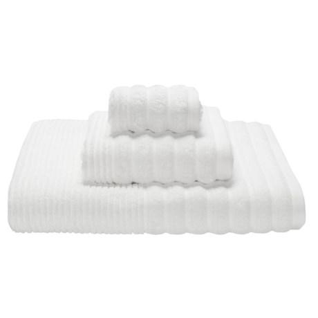 Espalma Boucle Rib Bath Towel - Zero-Twist Cotton