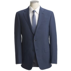 Hickey Freeman Beaded Stripe Suit - Worsted Wool (For Men)