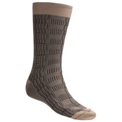 Byford® Glen Plaid Socks - Pima Cotton, Mid-Calf (For Men)
