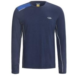 Icebreaker GT Run Ace Shirt - Merino Wool, Long Sleeve (For Men)