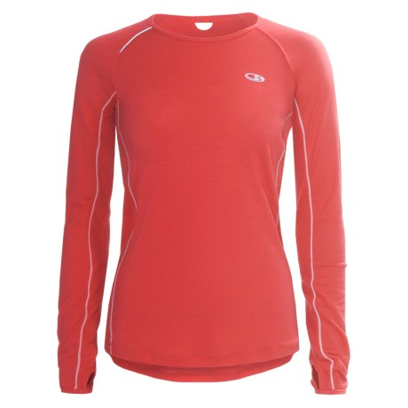 Icebreaker GT Run Rush Shirt - Merino Wool, Long Sleeve (For Women)