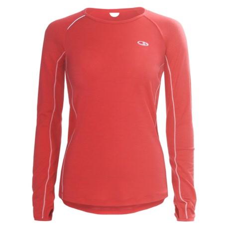 Icebreaker GT Run Rush Shirt - Merino Wool, Long Sleeve (For Women)