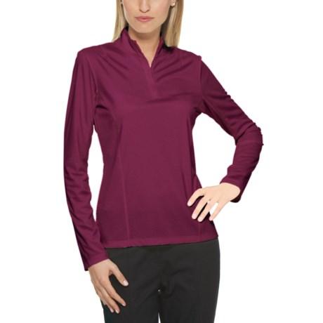 Callaway Mesh High-Performance Shirt - UPF 15+, Mock Neck, Long Sleeve (For Women)