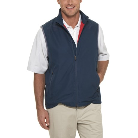 Callaway Two-Way Zip Wind Vest (For Men)
