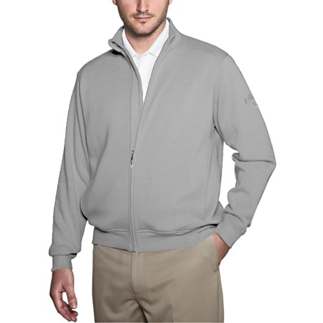 Callaway Fleece Track Sweatshirt (For Men)