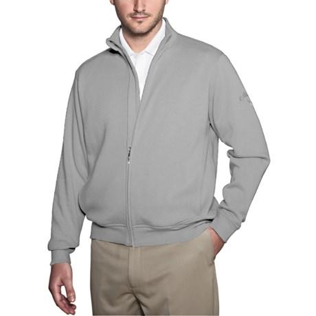 Callaway Fleece Track Sweatshirt (For Men)