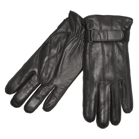 Cire by Grandoe Copper Gloves - Sheepskin Leather, Cashmere Lining (For Men)