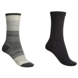 Goodhew Jasmin & Skinny Minnie Socks - Merino Wool, 2-Pack (For Women)