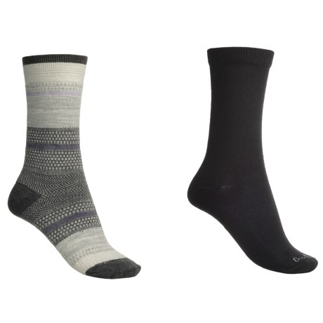 Goodhew Jasmin & Skinny Minnie Socks - Merino Wool, 2-Pack (For Women)
