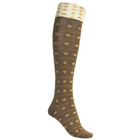 Goodhew Eliza Knee-High Socks - Merino Wool, Over-the-Calf (For Women)