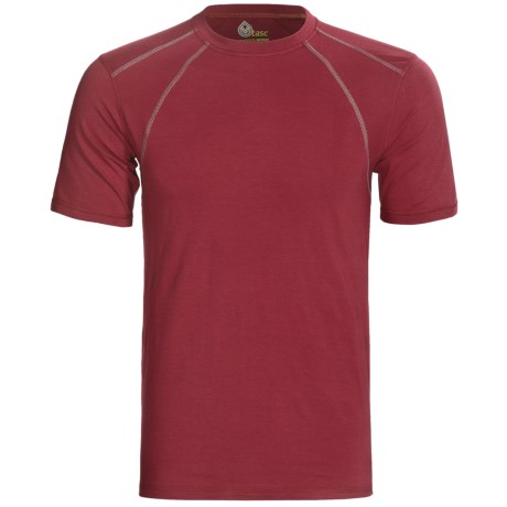 tasc Hybrid Fitted T-Shirt - UPF 50+, Short Sleeve (For Men)