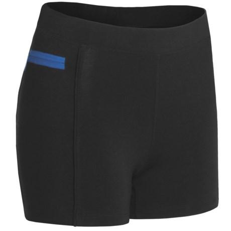 tasc Continuum Compression Shorts - Organic Cotton (For Women)